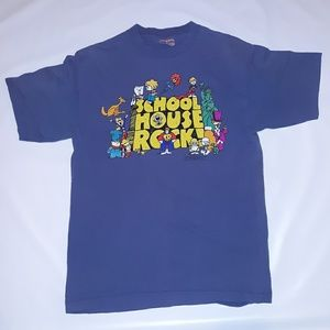 Vintage 95' School House Rock T size large